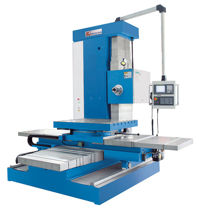 CNC drilling and milling machine  high precision  3-axis - BO 130 CNC