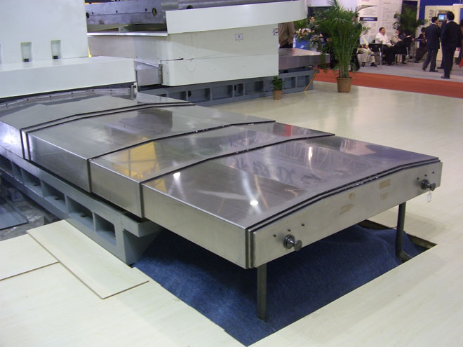 Steel Plate Machine Bellows Covers Application