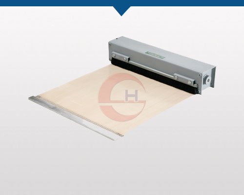 Light-Duty Industrial Roll-Up Covers For Machine Guarding